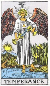 Temperance is balancing one's need for freedom and one's need for security.