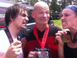 Erich and I were infected. Capt. Picard was a survivor!