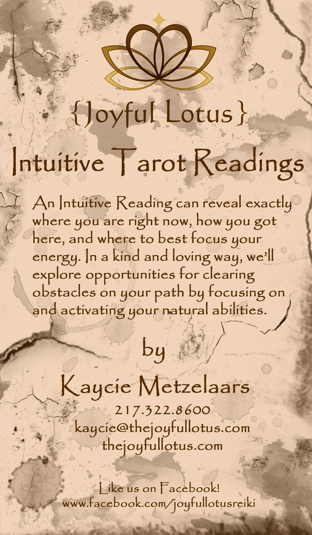 FREE Intuitive Tarot Reading By Joyful Lotus