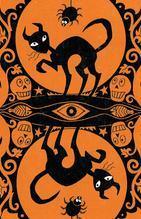 Back Halloween Tarot